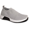 VANGELO Women Casual Shoe MIAMI Comfort Shoe Grey