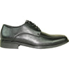 BRAVO Men Dress Shoe MILANO-2 Oxford Shoe Black