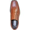 BRAVO Men Dress Shoe MONACO-1 Loafer Shoe Brown