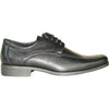 BRAVO Men Dress Shoe MONACO-3 Oxford Shoe Black
