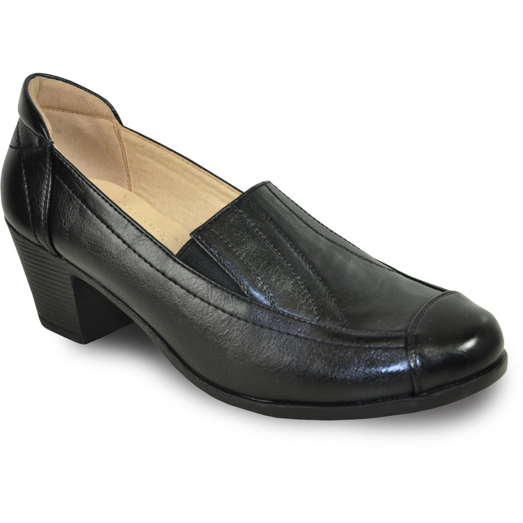KOZI Women Dress Shoe OY6277 Heel Shoe Black