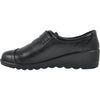 KOZI Women Casual Shoe OY6280 Comfort Shoe Black