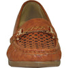 KOZI Women Dress Shoe OY6291 Wedge Shoe Tan