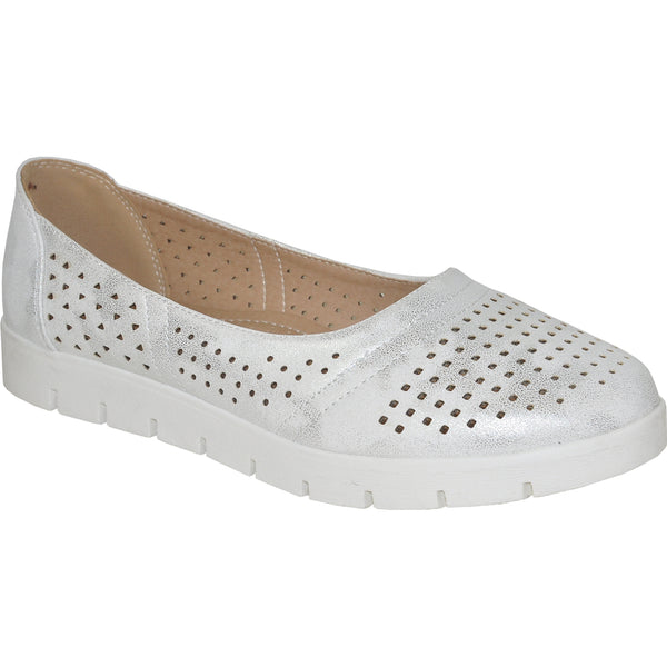 KOZI Women Casual Shoe OY9208 Comfort Shoe White