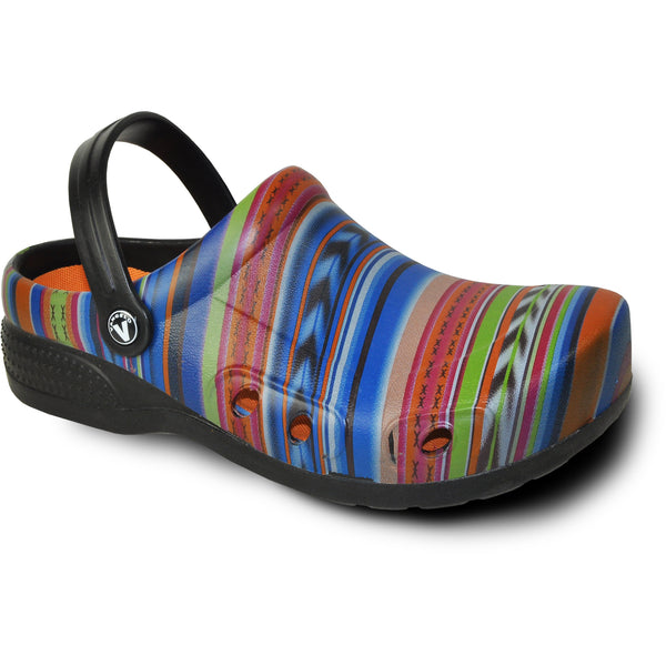 VANGELO Women Slip Resistant Clog RITZ Multi Color-1