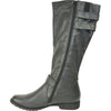 VANGELO Women Boot SD2406 Knee High Casual Boot Black