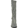 VANGELO Women Boot SD2406 Knee High Casual Boot Grey