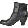 VANGELO Women Boot SD6401 Ankle Dress Boot Black