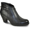 VANGELO Women Boot SD6402 Ankle Dress Boot Black