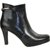VANGELO Women Boot SD6405 Ankle Dress Boot Black