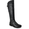 VANGELO Women Boot SD7409 Knee High Casual Boot Black