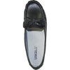 KOZI Women Leather Casual Shoe TH9254 Comfort Shoe Black