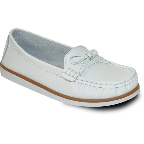 KOZI Women Leather Casual Shoe TH9254 Comfort Shoe White