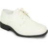 VANGELO Boy TUX-1KID Dress Shoe Formal Tuxedo for Prom & Wedding Ivory Patent