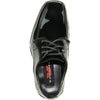 VANGELO Boy TUX-5KID Dress Shoe Formal Tuxedo for Prom & Wedding Black Patent