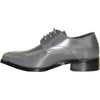VANGELO Boy TUX-5KID Dress Shoe Formal Tuxedo for Prom & Wedding and School Uniform Iron Grey