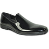 VANGELO Men Dress Shoe VALLO-3 Loafer Formal Tuxedo for Prom & Wedding Black Patent - Wide Width Available - Ortholite Insole