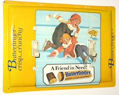 Butterfinger Candy Tin Triple Switch Plate With Unusual Configuration
