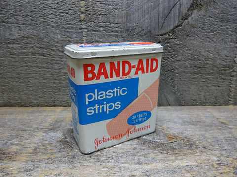 Vintage Band Aid Tin Collectible Advertising Tins For Sale