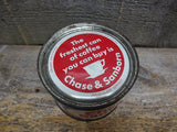 Vintage Chase & Sanborn Coffee Tin Collectible Tins For Sale