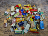 Tin Metal Material Findings Small Pieces Advertising Tins Pack Of 50