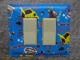 Double Rocker Switch Plates GFCI Covers Made From Chips Ahoy Cookie Tins