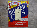 GFCI Covers Rocker Switch Plates Made From Quaker Oats Tins