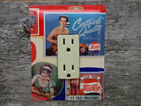 Switch Plates Or GFCI Covers Made From Vintage Pepsi Tins