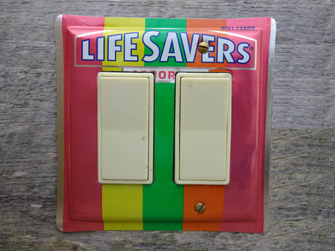 Lifesavers Tins Double Rocker Switch Plates GFCI Covers