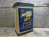 Maxwell House 1892 Coffee Tin Collectible Advertising Tins For Sale