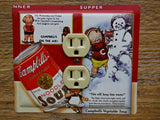 Outlet Covers Made From Campbells Soup Tins Cans
