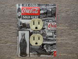 Coca Cola Outlet Covers Made From Coke Tins