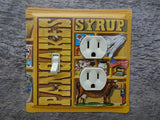 Switch Plates Combo Outlet Covers Made From Aunt Jemima Pancakes Tins