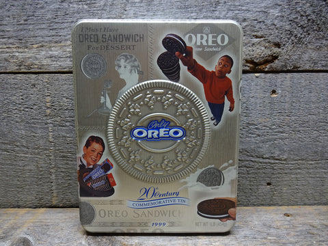 1999 Oreo Cookies Tin Collectible Advertising Tins For Sale