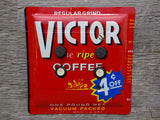 Double Push Button Switch Plates Made From Vintage Victor Coffee Tins