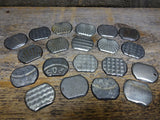 Metal Findings Steel Material Round Pieces Vintage Baking Pans Pack 20