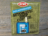Vintage Acme Coffee Tin Switch Plate 50% Off Clearance