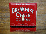 Vintage Switch Plates Made From Breakfast Cheer Coffee Tins