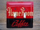 Switch Plates Made From Vintage Flame Room Coffee Tins