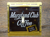 Switch Plates Made From Vintage Maryland Club Coffee Tins