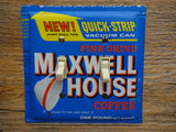 Switch Plate Made From A Vintage Maxwell House Coffee Tin