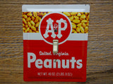 Vintage A&P Peanuts Tins Made Into Switch Plates