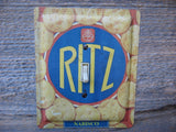 Ritz Crackers Tin Switch Plates 50% Off Clearance