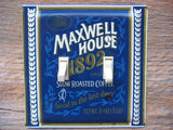 Maxwell House Coffee Tin Double Switch Plate