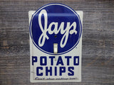 Switch Plates Made From Jays Potato Chips Tins
