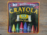 Switch Plate Made From A Crayola Crayons 40th Anniversary Tin