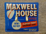 Switch Plates Made From Vintage Maxwell House Coffee Tins