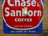 Vintage Chase & Sanborn Coffee Tin Switch Plates On Sale