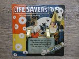 Pep-O-Mint Lifesavers Tin Double Switch Plate