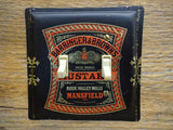 Double Switch Plates Made From Barringer & Brown Mustard Tins